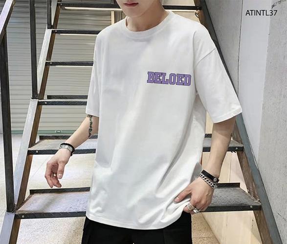 Sản phẩm áo phông nam freesize thường có form dáng rộng rãi, thích hợp cho người dưới 80kg